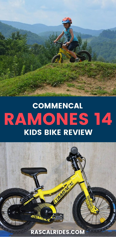 "Commencal Ramones 14"" Kids Bike Review Kids bike, Bike"