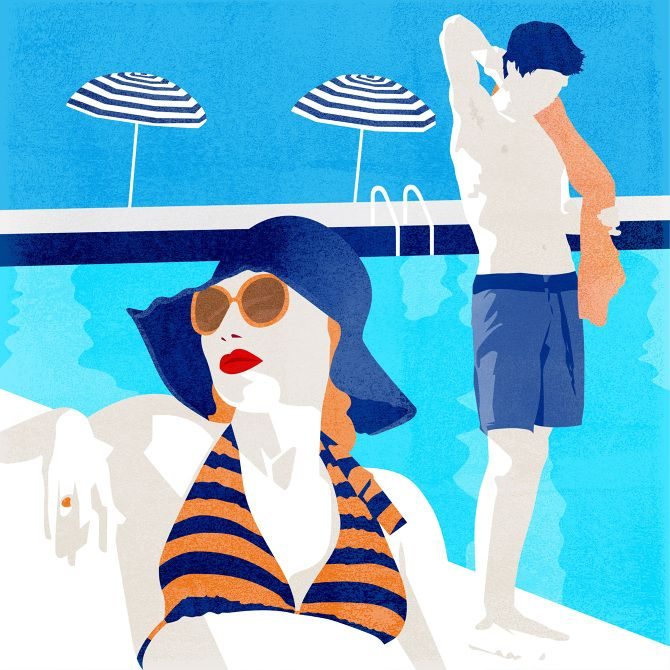 Getaway, Illustration by Amy DeVoogd