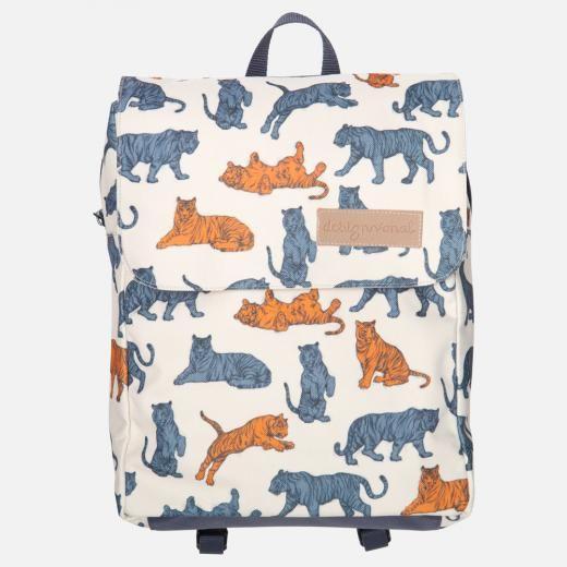 TIGER Kids Backpack from Designvonal // pattern design by Csaba Hutvágner