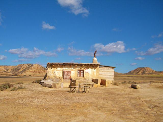 Désert des Bardenas Reales, Espagne