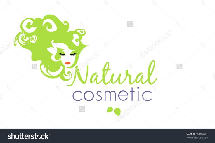 Silhouette Woman'S Faces With Hairstyle In Abstract Flowers Style, Floral Motives Natural Cosmetic Logo, Sign, Symbol, Icon For Salon, Spa Salon, Hairdressing, Firm Company, Center.Vector Illustration - 514294522 : Shutterstock