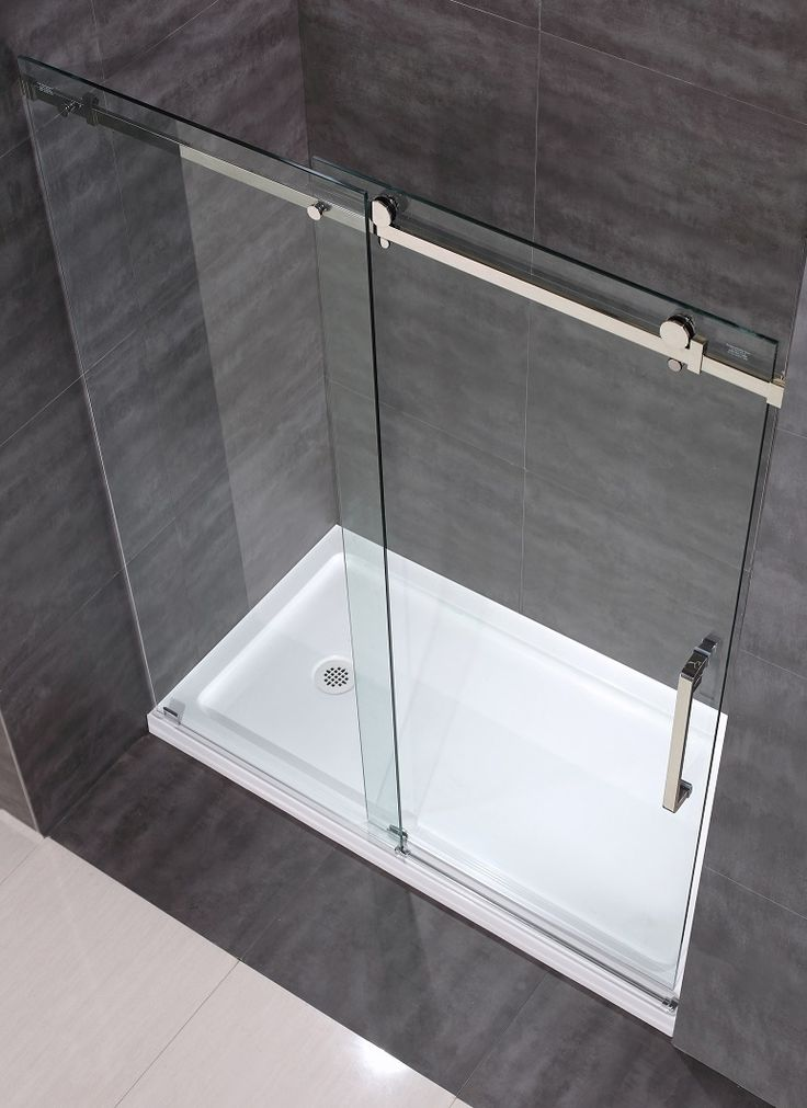17 Best Ideas About Frameless Sliding Shower Doors On