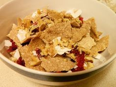 Cinnamon Cranberry Coconut Crunch Cereal (low carb, keto)   Ginny's Low Carb…