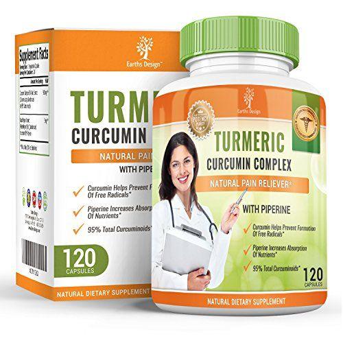 Curcuma Curcumine 600mg – Curcuma Biologique avec Extrait de Poivre Noir – La Piperine Augmente la Biodisponibilité – Pour Hommes et Femmes…