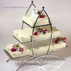 Подставка для свадебного торта и капкейков, этажерка под торт на свадьбу