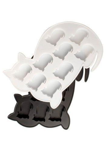 Kitty ice cube tray