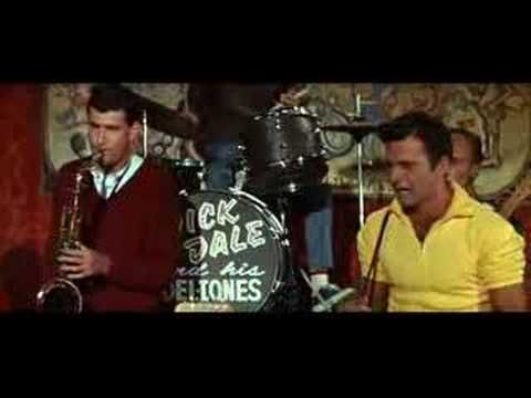 """Donna Loren & Dick Dale """"Muscle Bustle"""" from Muscle Beach Party (1964) - YouTube"""