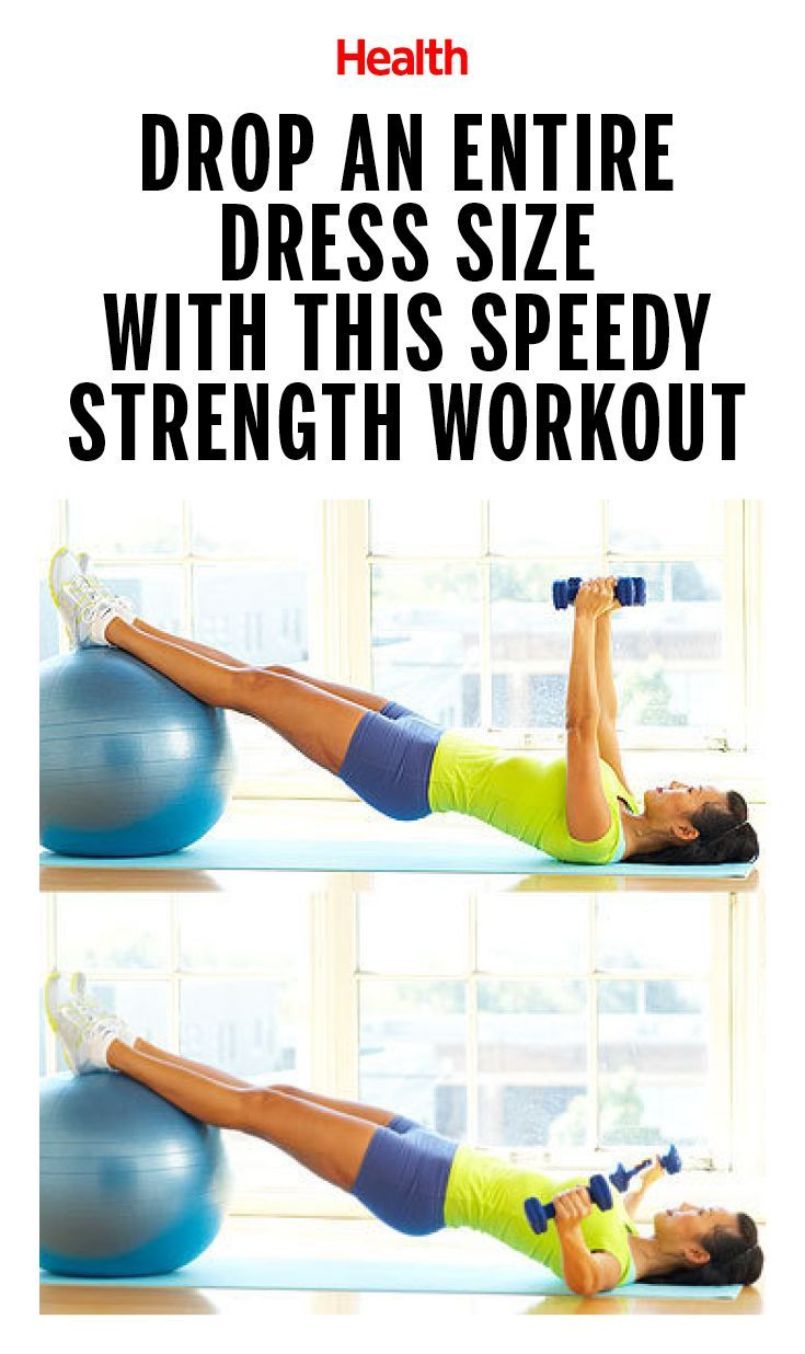 Drop an Entire Dress Size With This Speedy Strength Workout | Health.com