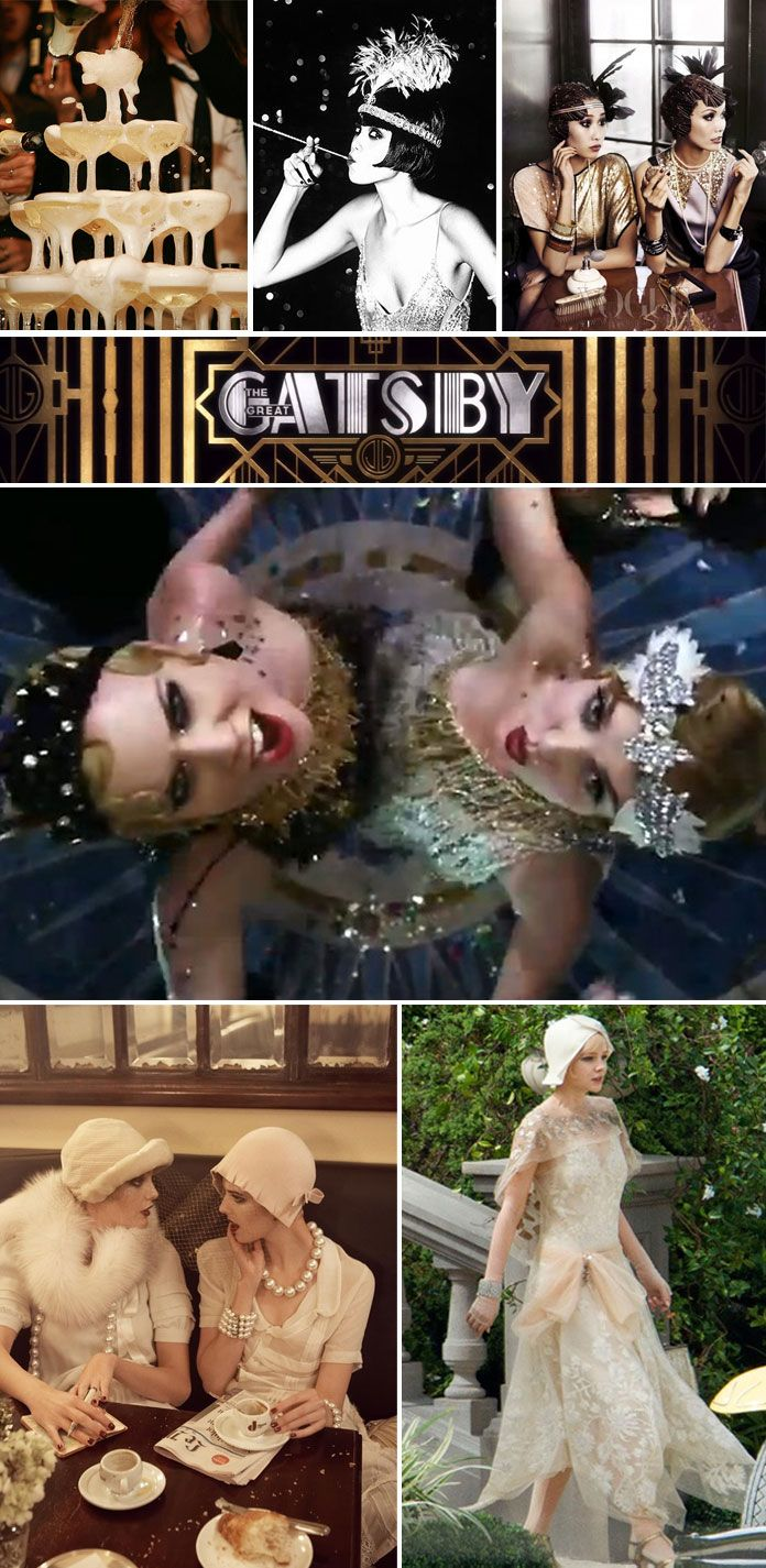 great gatsby wedding theme Somethingvintage.com.au