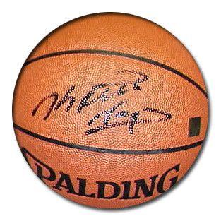 Keith Van Horn Signed Spalding Indoor/Outdoor Basketball