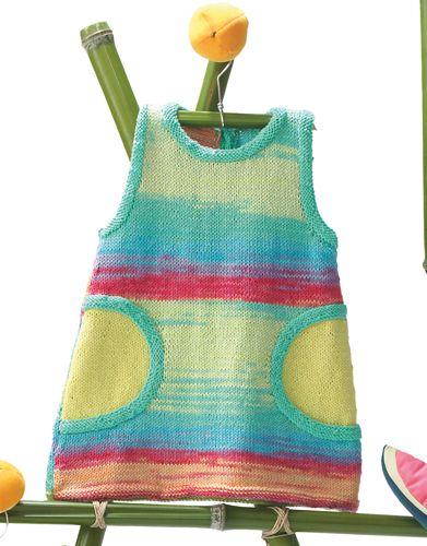 Revista bebé 68 Primavera / Verano | 34: Bebé Vestido | Multicolor / Pistacho claro / Verde medio