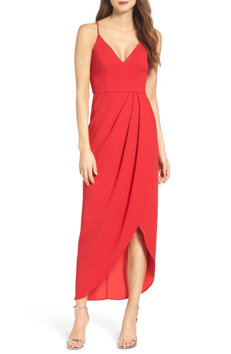 87 best red bridesmaid dresses images on pinterest red highlow dress ombrellifo Image collections