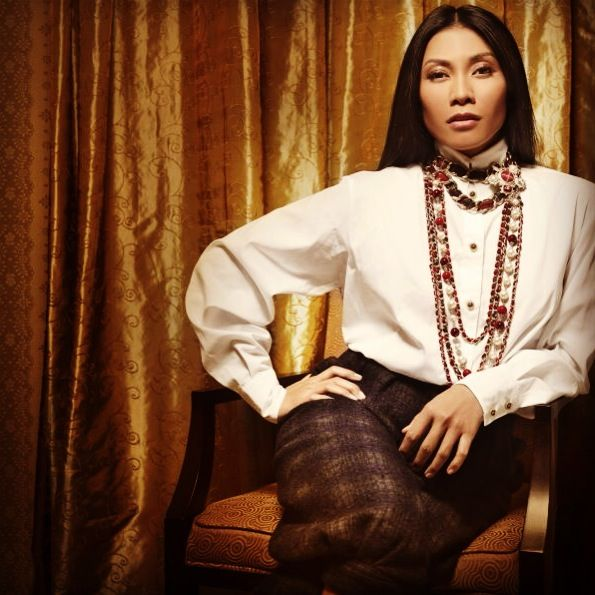 Anggun in Chanel for InStyle Indonesia