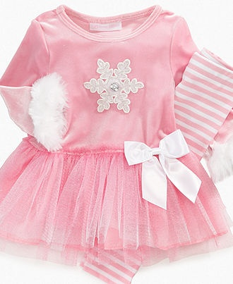 Bonnie Baby Set, Baby Girls Dress with Tutu and Legging Set - Kids Baby Girl (0-24 months) - Macy's