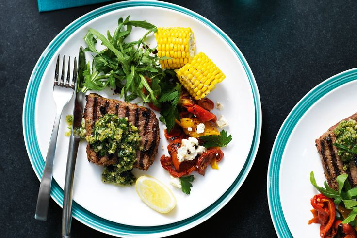 Ready in minutes, these garlic-seared steaks are the meaning of easy dining.