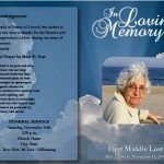 Funeral Flyer Template Funeral Brochure Template Word Free Funeral Program Template Download