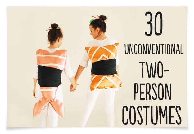 Yes! A sushi costume would be so easily awesome! Anywho, this link has a lot of really good couple costumes too.