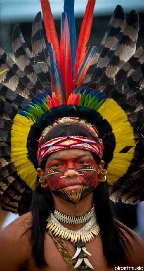 Índio Pataxó, Brasil