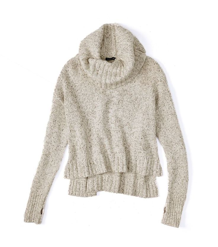 cashmere silk tweed sweater (with thumbholes!), best gift ever (Holiday Giveaway Pin)