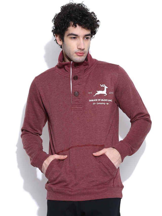 Dream of Glory Inc Maroon Sweatshirt