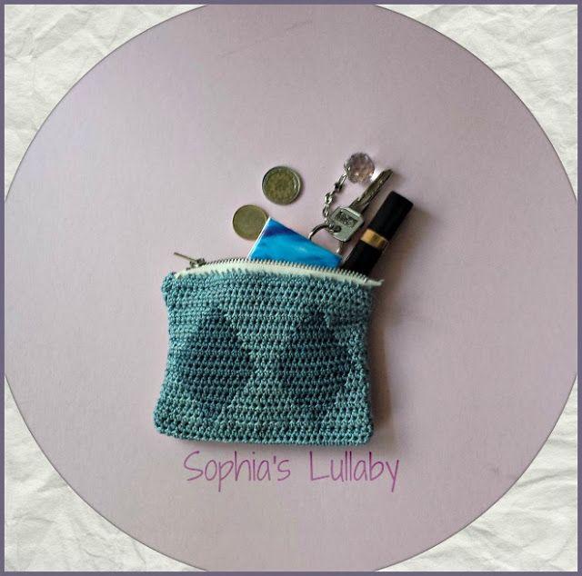 #tapestrycrochet #handmade #crochet #summercrafts #crochetcoinpurse $smallpurse #smallbag