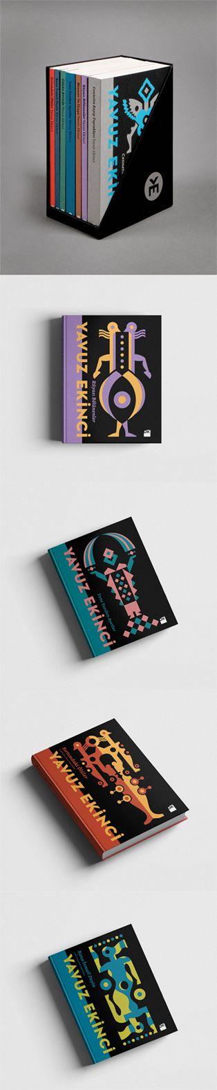 Book Cover Series by Geray Gencer www.geraygencer.com  Europen Design Awards Winner