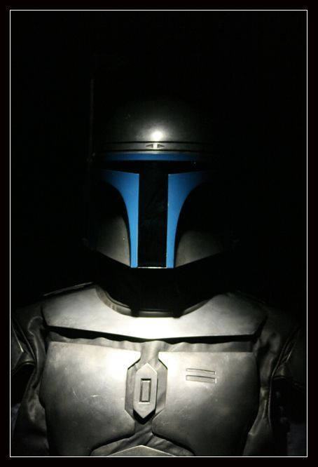 """Jango Fett: Was a renowned Mandalorian bounty hunter, assassin, mercenary, and the """"father"""" of Boba Fett, a genetic clone of his, whom he raised as a son. A Human from Concord Dawn, he was adopted by Mandalorian warriors following the murder of his parents in 58 BBY. Years later, he lead them through much of the Mandalorian Civil War as Mandalore. After being imprisoned by Jedi, Fett was responsible for destroying the Death Watch, a Mandalorian group who killed Fett's mentor, Master Jereel."""