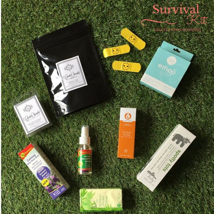Hay Fever & Sniffles Survival Kit - Natural - Organic  Health and Wellness for babies and young families