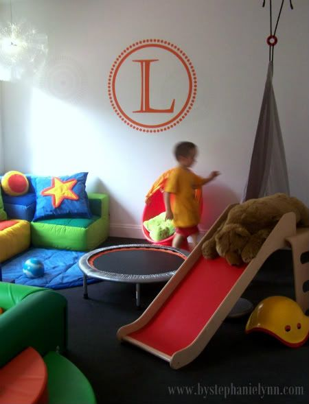Under The Table and Dreaming: XL Vinyl for the Sensory Playroom {by Accent Studios}