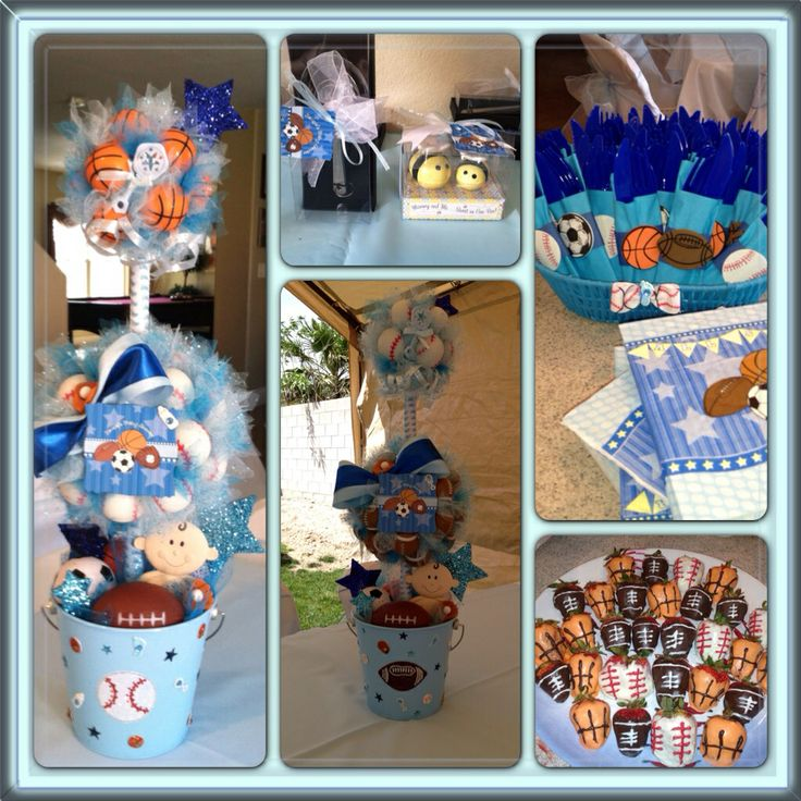 all star themed baby shower