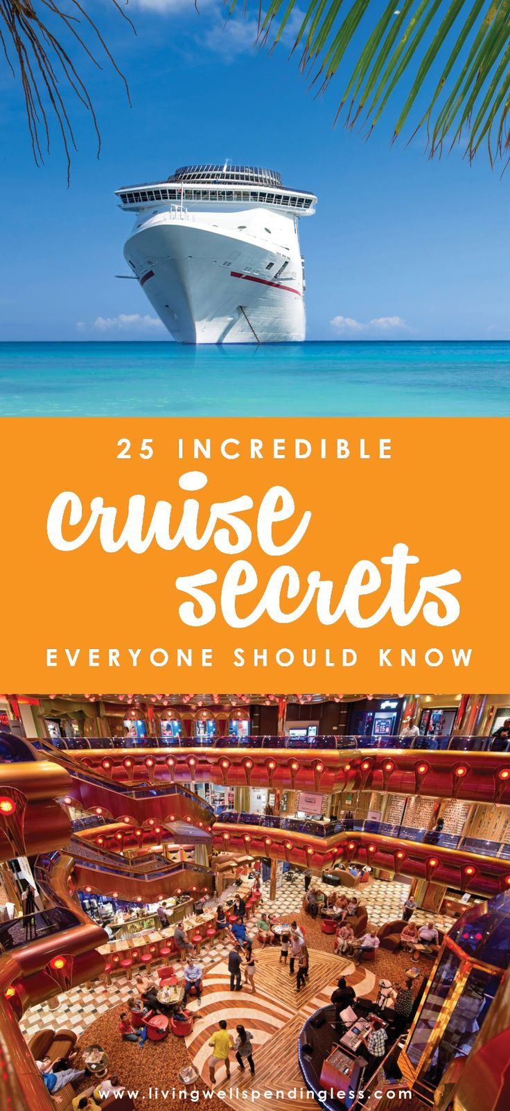 These 25 cruise secrets can help you find the best deals, discover little-known …