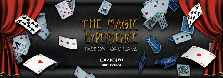 "In occasion of the Week of Magic in Turin AR-Code created the game ""The Magic Experience"" in collaboration with Iveco"
