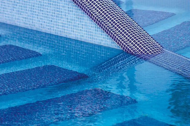 Details Of The Stunning Mosaic Outdoor Pool We Made For The Luxury