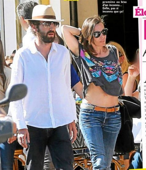 Omg! Thomas Bangalter with wife, Elodie Bouchez, in Beverly Hills!!!