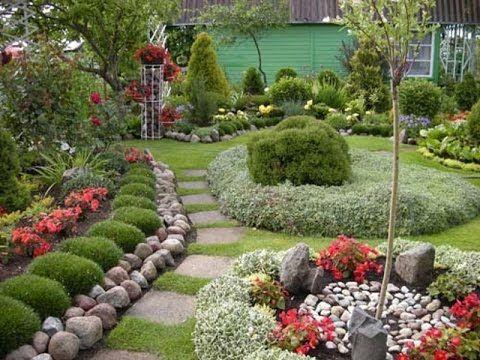 Как превратить деревенский огород в цветущий оазис - YouTube