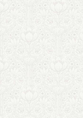 White Heat Wallpaper - Eco White Light Collection - Lime Lace £34.95 #ecowhitelight #whitecollection #patternwallpaper
