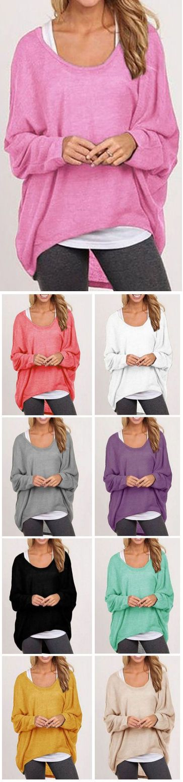 Oversized Comfy Loose Fitting Top ❤︎ Loving All These Colors too!                                                                                                                                                                                 More