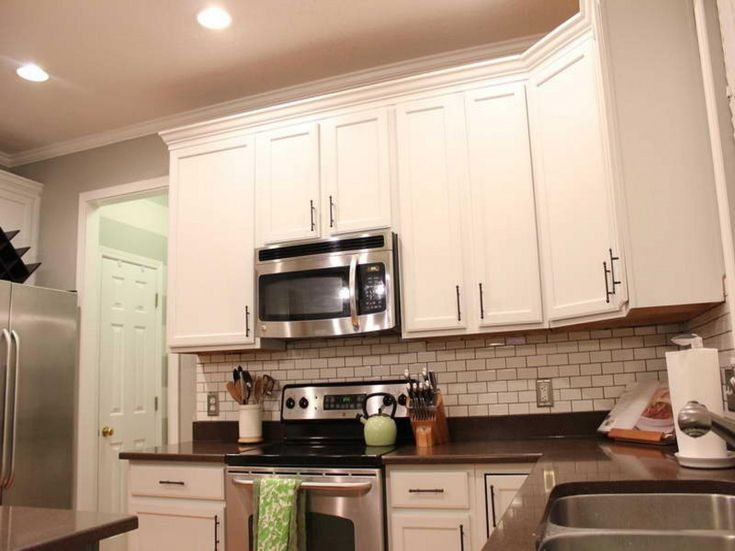 weißer Schrank hardware Ideen - Chrom ist ein Silber-finish, die oft - küche selber planen