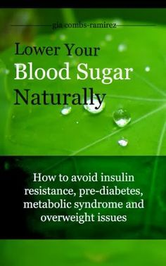 Diabetes Treatment - Lower Your Blood Sugar Level The Natural Way