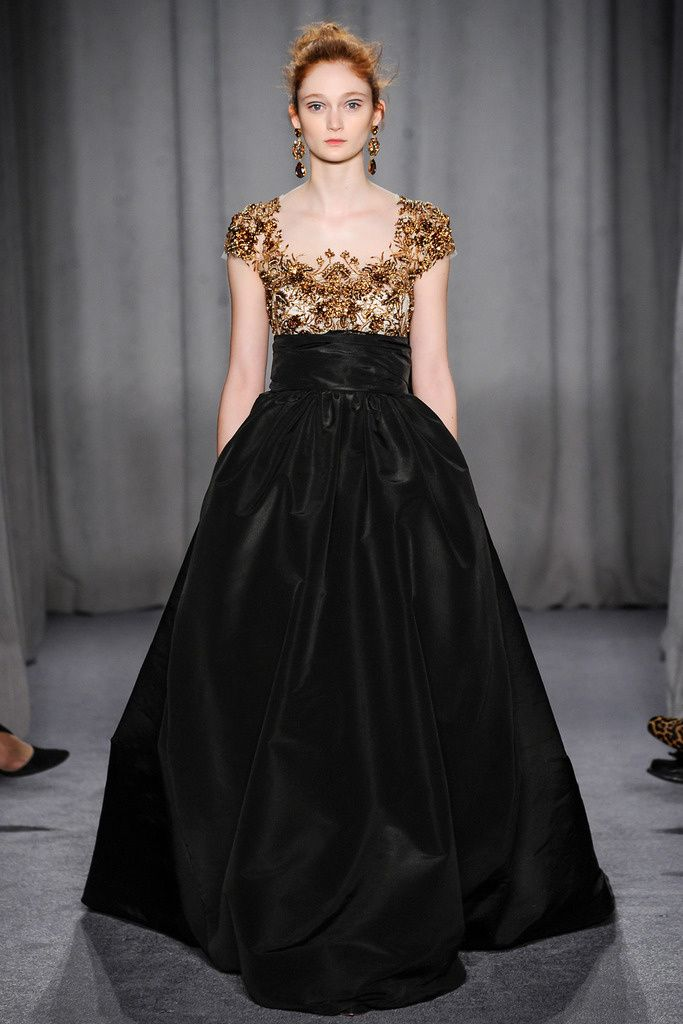 An Oscar worthy dress. Marchesa NYFW autumn-winter 2014/2015. ~LePosterBoy