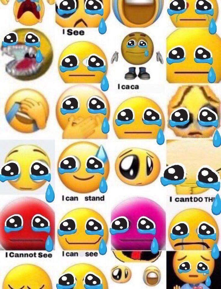 Pin by eri.c on this fun and shitie board Crying emoji