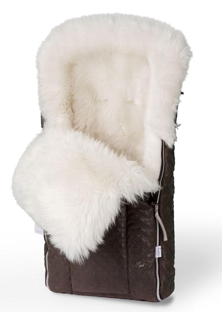 Конверт в коляску меховой Esspero Edmund Icelandic Sheep (натуральный мех)
