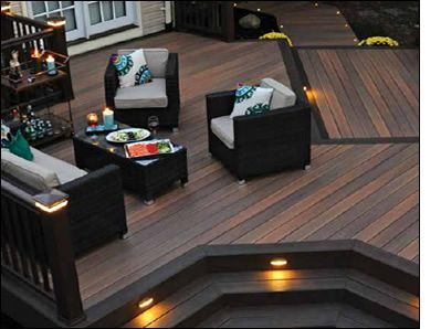 TimberTech® Capped Composite Deck Boards | Free Samples