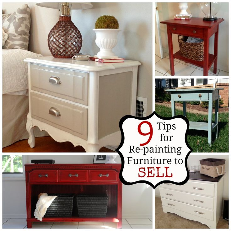 Two it yourself 9 tips for selling painted re finished for Do it yourself projects to sell