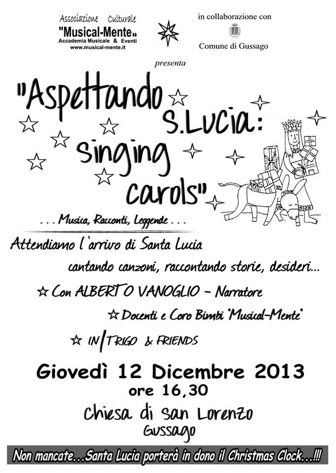 Aspettando Santa Lucia giovedì 12 dicembre a Gussago - http://www.gussagonews.it/aspettando-santa-lucia-dicembre-2013-gussago/