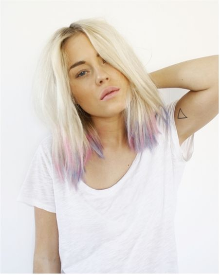 pastel tipsPurple Hair, Dips Dyes, Colors, Blondes, Beautiful, Tiny Tattoo, Tips, Pastel Hair, Pastelhair