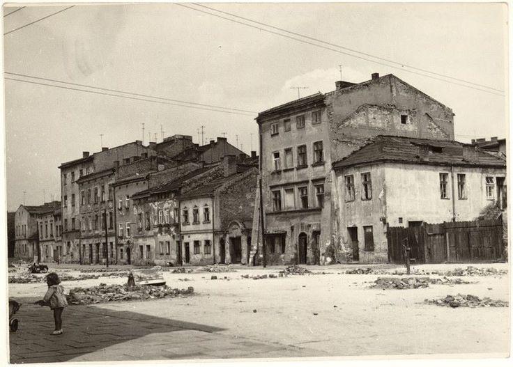 Ulica Szeroka w 1963 roku.