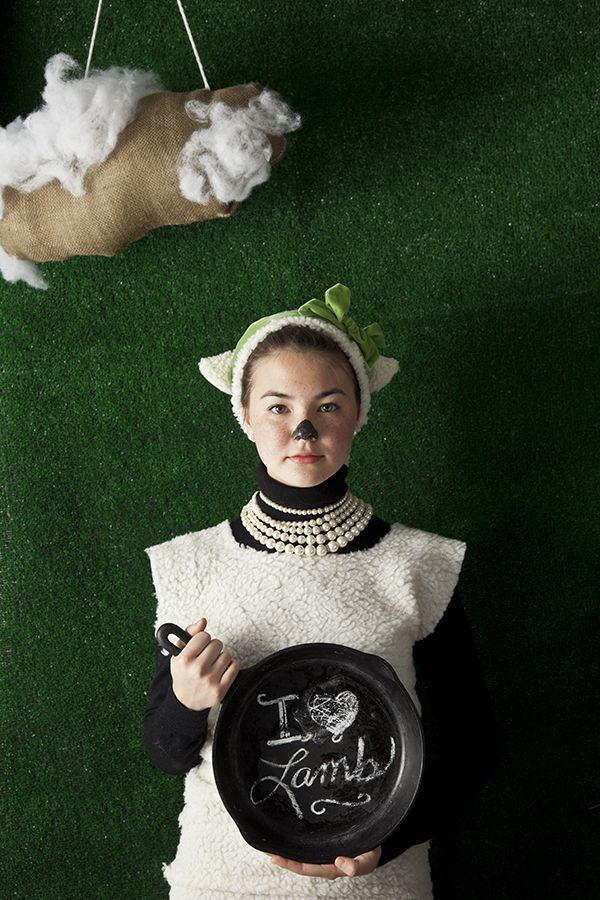 I Love Lamb. Photo by Chia Chong, Styled by Libbie Summers, Model: Anna Heritage