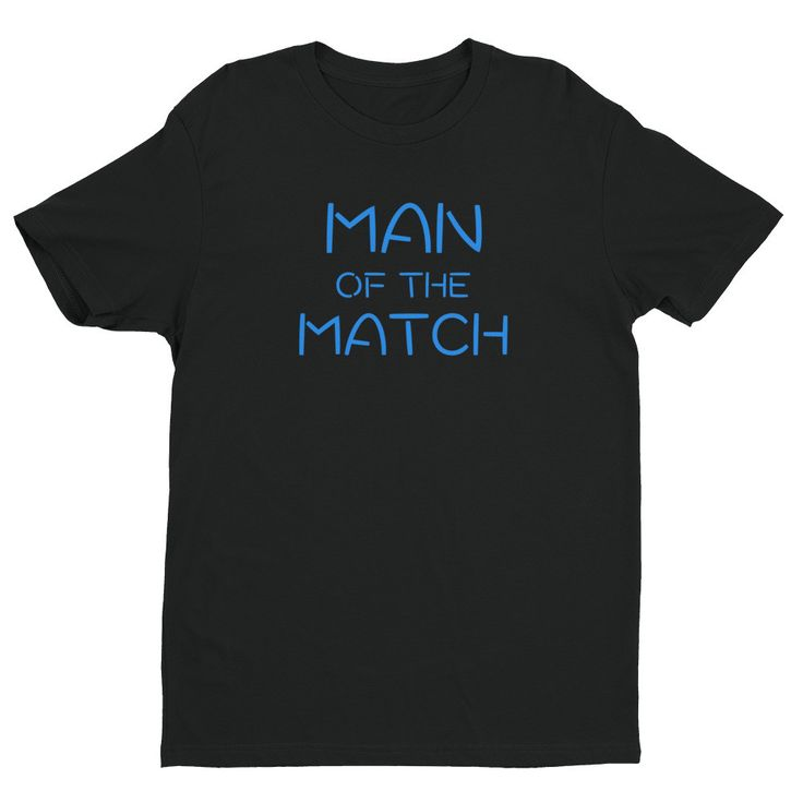 | Man Of The Match | Soccer Short sleeve T-shirt |