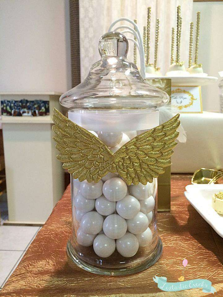 Angel / Heaven Baptism Party Ideas | Photo 3 of 22 | Catch My Party